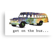 Hippie Bus Canvas Print