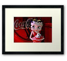 Betty & Bimbo Framed Print