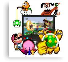 Smash Party Canvas Print