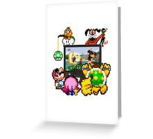 Smash Party Greeting Card