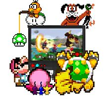 Smash Party Photographic Print