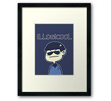 illogicool Framed Print