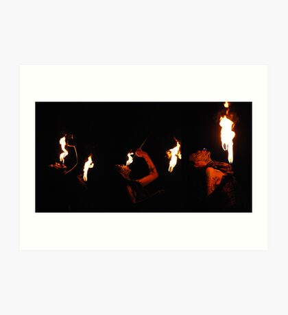 Fire Breather Art Print