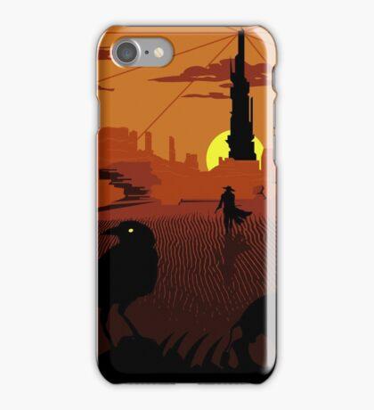 ...and the Gunslinger followed iPhone Case/Skin