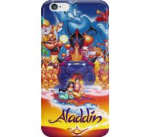 Aladdin movie poster iPhone Case/Skin
