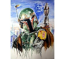 the Bounty Hunter Photographic Print