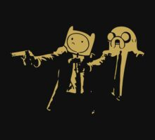 Adventure Time Pulp Fiction Kids Tee