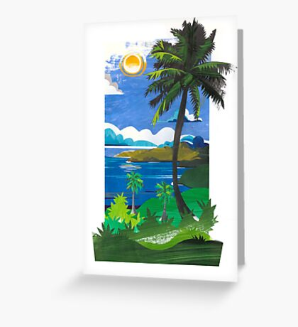 The Marquesas. Greeting Card