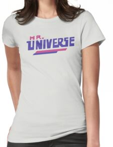 Mr. Universe Womens Fitted T-Shirt