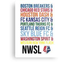 National Women's Soccer League Teams Metal Print