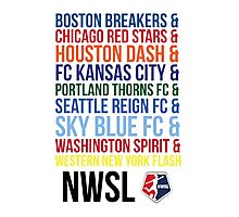 National Women's Soccer League Teams Photographic Print
