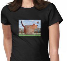 Backyard Wilbur Womens Fitted T-Shirt