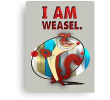 I Am Weasel Canvas Print
