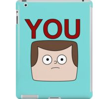 A Jeff is You iPad Case/Skin