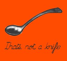 The treachery of cutlery Kids Clothes