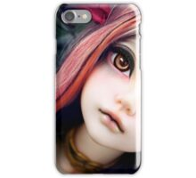 Amber Eyes iPhone Case/Skin