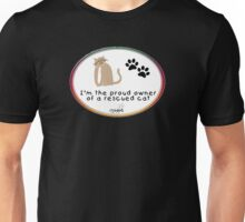 Rescued Cat Unisex T-Shirt