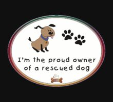 Rescued Dog by arline wagner