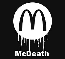 Mcdeath (white) Tank Top