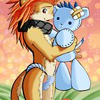 Lion Boy and Plushie - Softpaw Magazine Issue #2 by Dream Field Comics