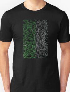 Trees&Stuff (White on Black) T-Shirt