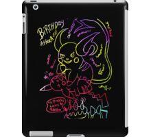 pikachus birthday attack iPad Case/Skin