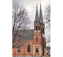 St. Mary's Church Study 7  Photographic Print