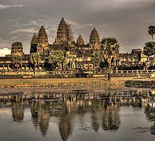 Angkor Wat Temple by Jeanne Frasse