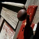 red doorknob by charitygrace