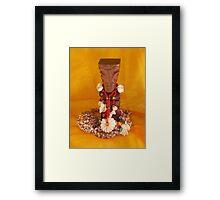 Tahitian idol... Framed Print