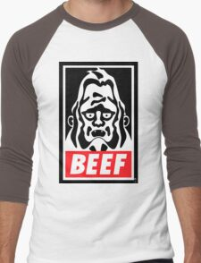 Obey Beefsquatch Men's Baseball ¾ T-Shirt