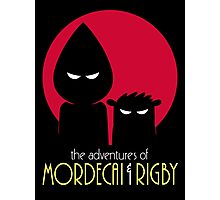The Adventures of Mordecai & Rigby Photographic Print