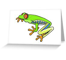 Treefrog Togs Greeting Card