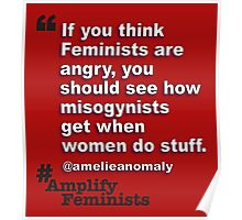 Angry Feminists Poster