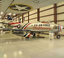 F-86 Sabre by Edward Denyer