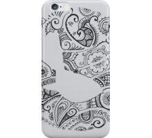 Fantail Henna Inspired iPhone Case/Skin