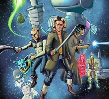 Saga - Movie Poster by artofbacon