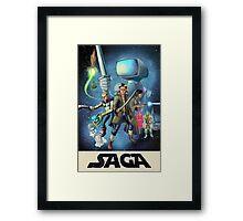 Saga - Movie Poster Framed Print