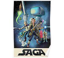 Saga - Movie Poster Poster