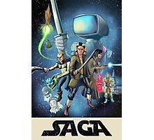Saga - Movie Poster Photographic Print