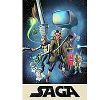 Saga - Movie Poster Photographic Print