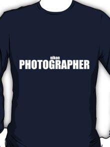 Nikon Photographer (White) T-Shirt