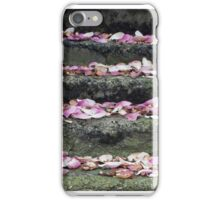 Petal staircase iPhone Case/Skin