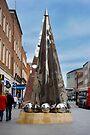 Exeter City Centre #4 Obelisk of Riddles by DonDavisUK