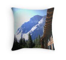 WINDOW VIEW Throw Pillow