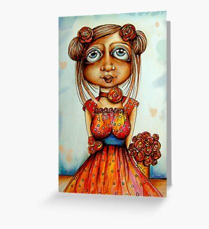 Sweet Rosie Greeting Card