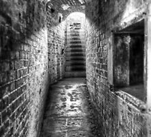 The Tunnel 2 (BW) by DavidsArt