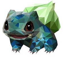 Low Poly Bulbasaur by Ariana Zhang