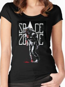 SPACE ZOMBIE Women's Fitted Scoop T-Shirt