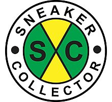 Sneaker Collector Photographic Print